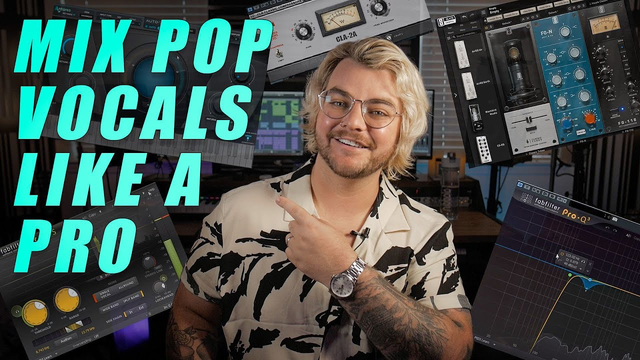 How to Mix Pop Vocals Like a Pro (FREE STEMS AND PRESETS)   Make Pop Music