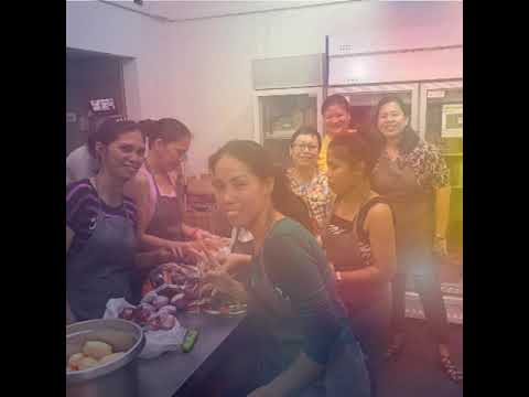 Smota......baking and cooking programme for ofw here in Singapore sponsor by the St Mary of the ange