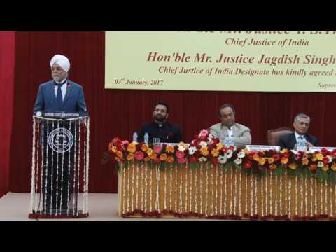 Farewell function of Hon'ble Mr. Justice T.S. Thakur, Chief Justice of India (Part 3 of 5)