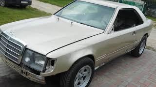 Мерседес W 124 купе после покраски.