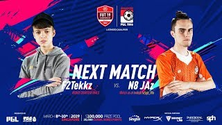 F2TEKKZ VS N8JAZ! FUT 19 CHAMPIONS CUP MARCH