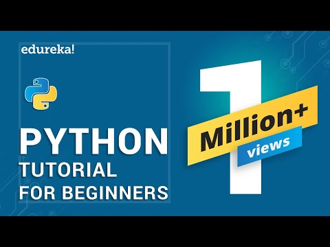 Python Tutorial for Beginners | Python Programming Language Tutorial | Python Training | Edureka