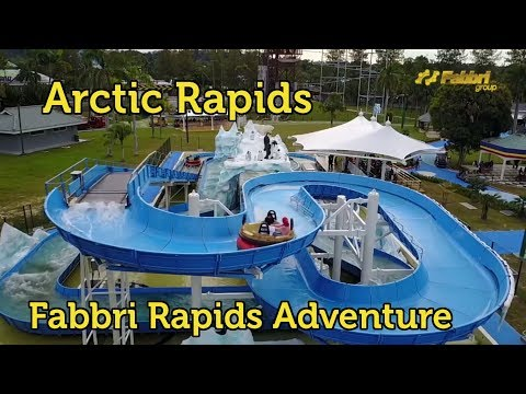 Rapids Adventure Water Ride from Fabbri Group @ Jerudong Park, Brunei