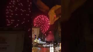 New year fireworks f10 Islamabad