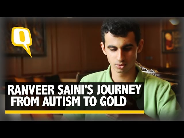 Ranveer sainis journey from autism to gold the quint thecheapjerseys Gallery