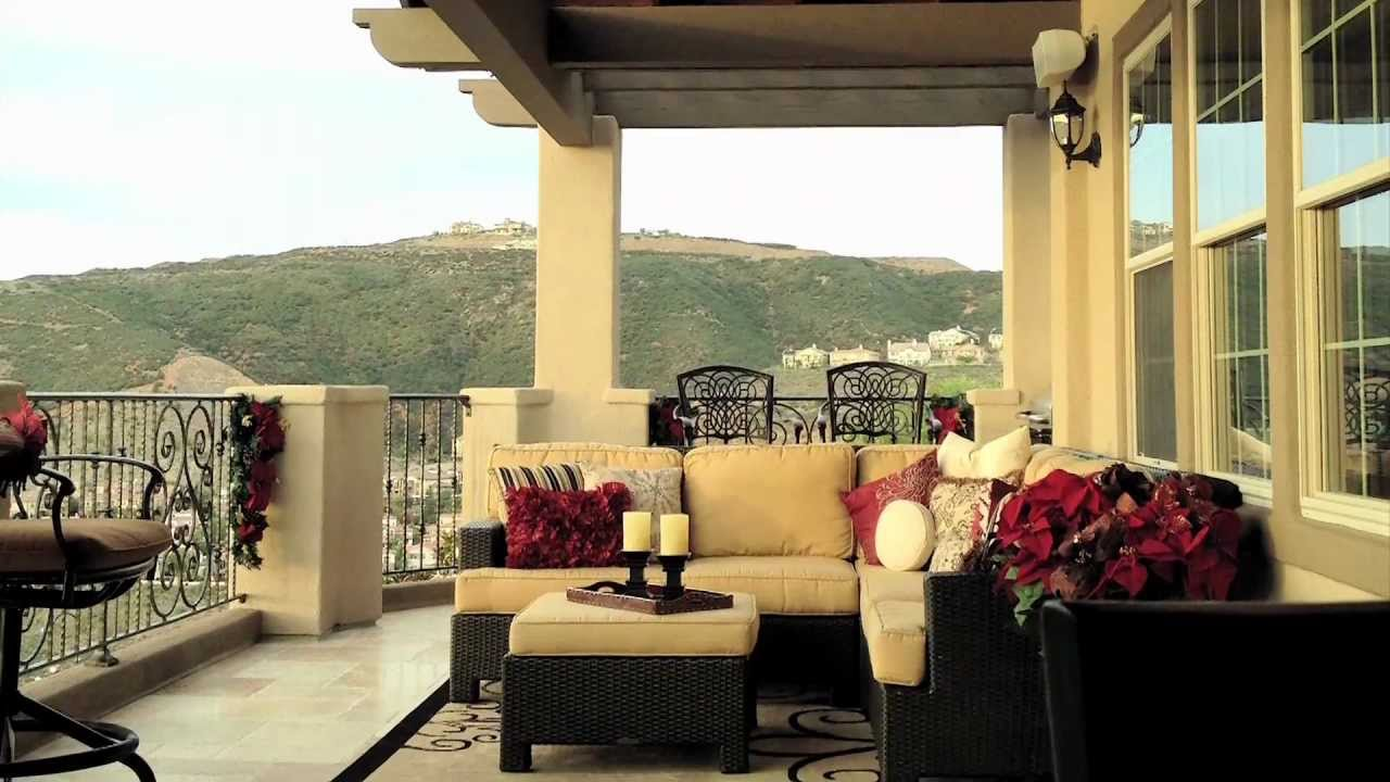 Video Of Tips For Creating Outdoor Living Spaces That Are Big In Comfort  And Style