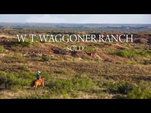 SOLD! Historic W.T. Waggoner Ranch - The Largest Ranch Under One Fence In The U.S.