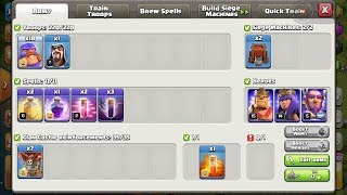 COC New Update Live Come On Guys For New Troops and seigh and spell