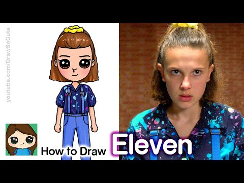 How To Draw Eleven From Stranger Things 3