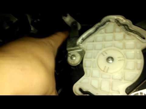 Почему не греет печка радиатор матиз, вид из нутри, забит #Daewoo-Ravon Matiz