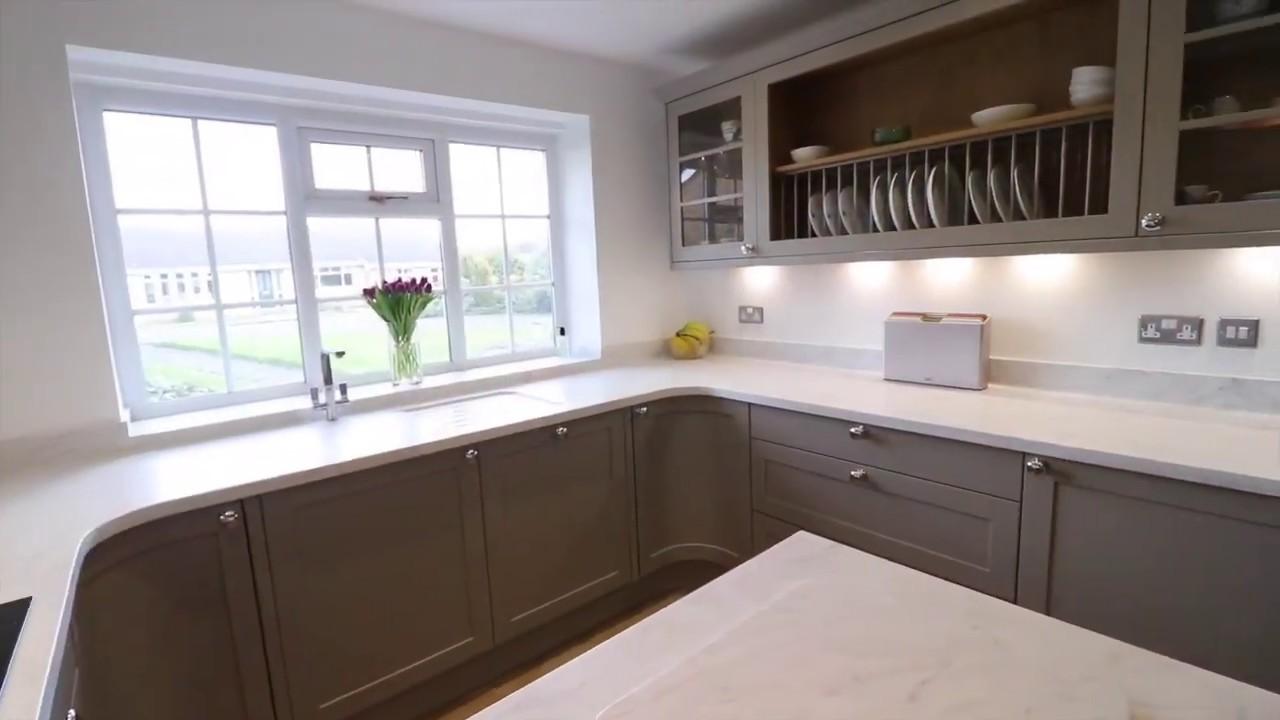 Kitchen Stori Aldana Painted Soft Grey