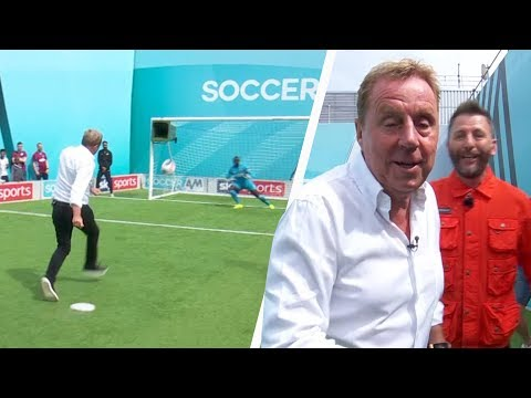 Harry and Jamie Redknapp team up in Soccer AM Pro AM! 🔥