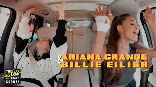Download lagu Ariana Grande & Billie Eilish in a carpool after the Grammy