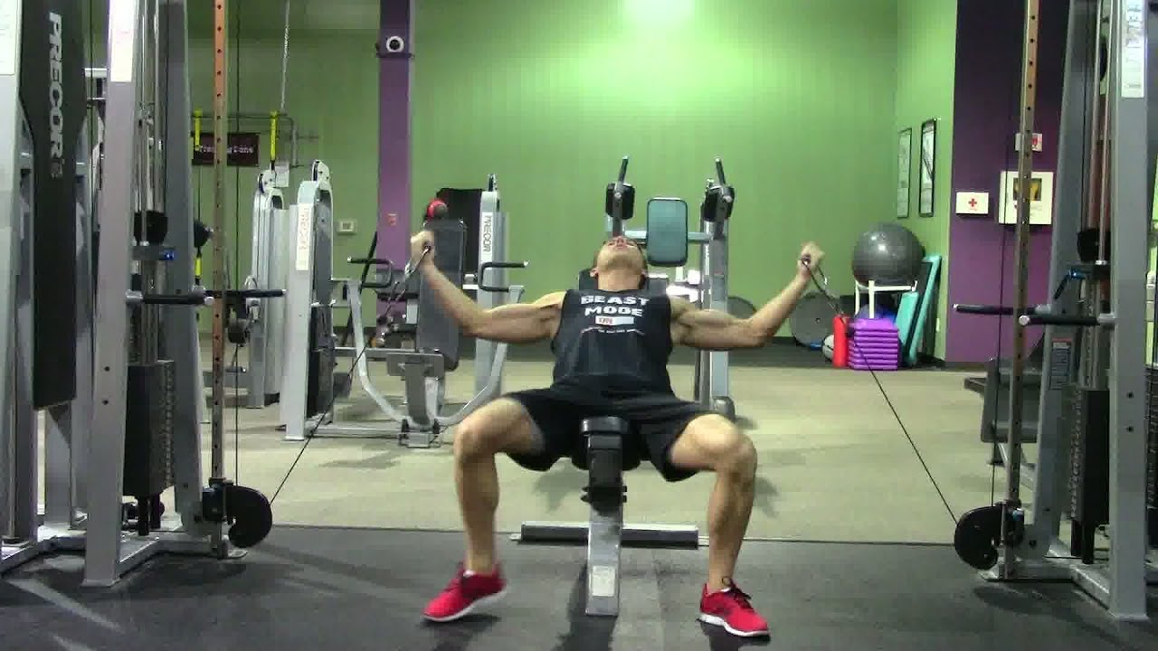 Gym Chest Chair Louis Xv Top 20 Exercises At The In 3 Minutes Hasfit