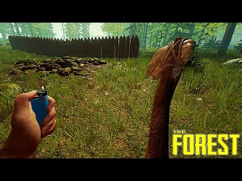 THE FOREST - INICIAMOS A CONSTRUÇÃO DA NOSSA SUPER BASE #10