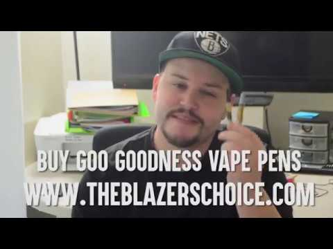 Goo Goodness Vaporizer Pens: What are vape pens, how do they work, and more - The Blazers Choice