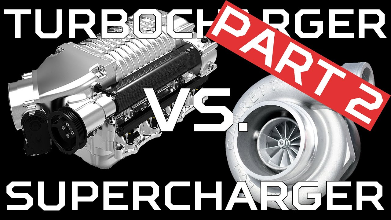 Turbo charger and super charger ~ Mech Hayagreeva