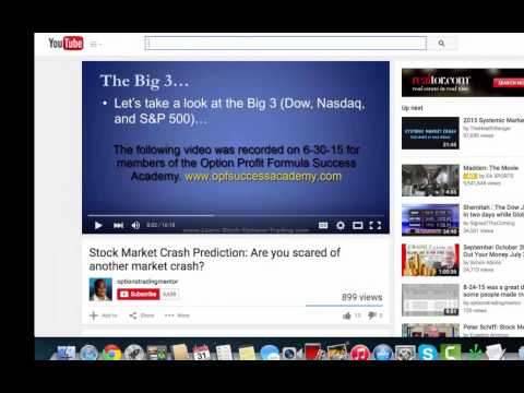 Stock Market Crash Prediction Part 2 The Shemitah Effect: Jonathan Cahn says to protect your assets