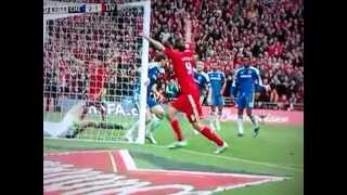 Disallowed Goal - Andy Carroll FA Cup Final vs Chelsea