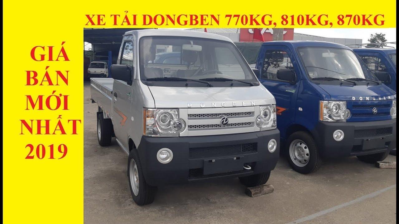 Bán xe tải nhỏ dongben 870kg | Xe đẹp, máy bền, thùng dài 2m5