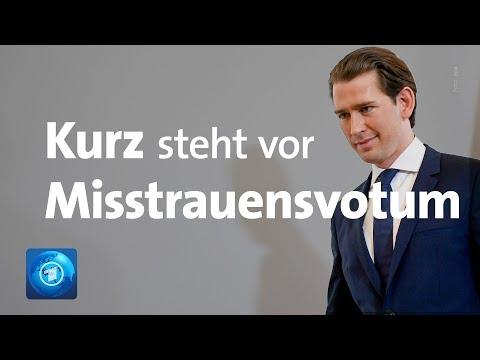 Misstrauensantrag in Österreich: