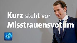 Misstrauensantrag in Österreich: Droht nun Kanzler Kurz das Aus?