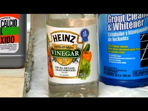 Home Remedy for Cleaning Tile Grout Grout Maintenance YouTube