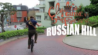 Clyde's Guide to Russian Hill-- [DEATH-DEFYING STUNT]