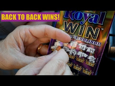 Back to Back Winners! Royal Win $1MIL Top Prize Michigan Lottery