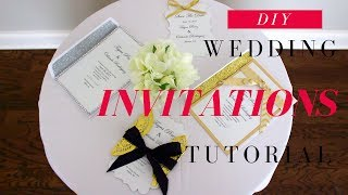 DIY Wedding Invitations | DIY Save The Date Cards |  Fast, Easy & Affordable