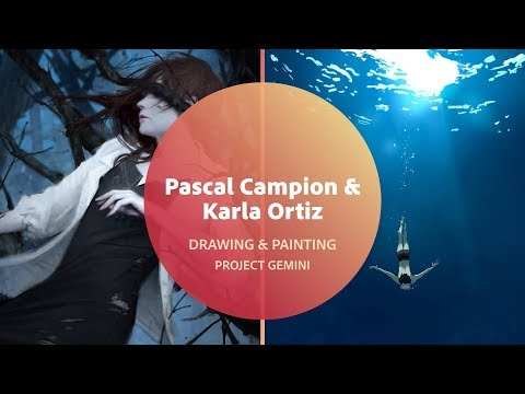 Drawing & Painting In Project Gemini With Karla Ortiz & Pascal Campion - 1 Of 3