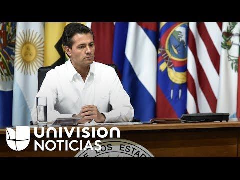 Acusan a Enrique Peña Nieto de espionaje contra opositores