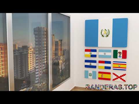 Himno y banderas de Guatemala | Guatemala flags and anthem