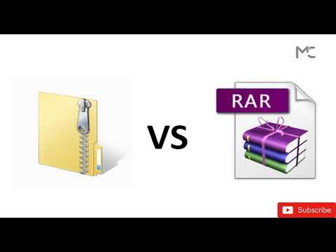 What is Basic Difference Between Zip and RAR File | Tutorial By Milind Chovatiya