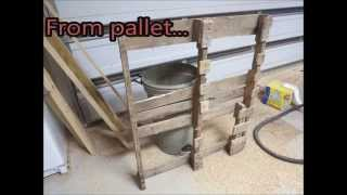 Pallet Up Cycle Challenge 2014