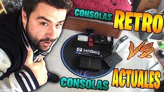 CONSOLAS RETRO VS CONSOLAS ACTUALES-MI COLECCIÓN DE VIDEOCONSOLAS-PS4-XBOX ONE-SEGA-9BRITO9