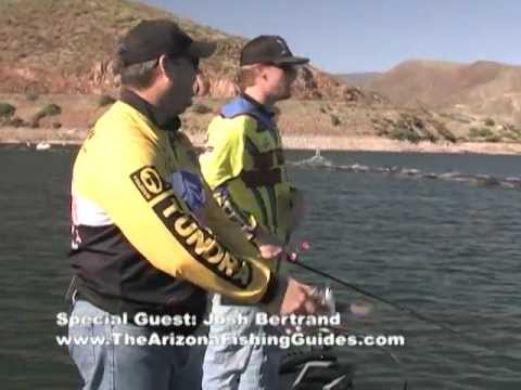 Josh bertrand from the arizona fishing guides and johnny for Johnny johnson fishing