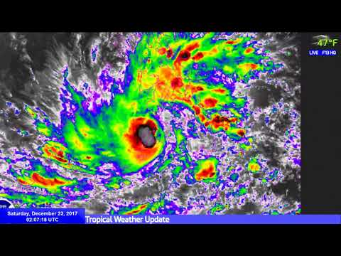 Live Tropical Weather Update - 02:00 UTC, December 23 2017