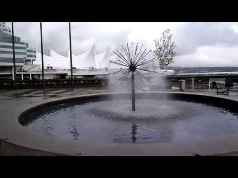 Granville Square Water fountain   Vancouver