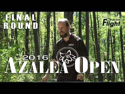 Azalea Open 2016 Final Round Disc Golf Tournament