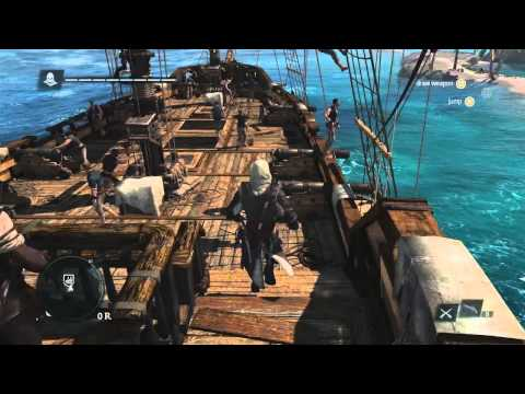 Assassins Creed 4: Black Flag - Caribbean Open World Gameplay Trailer - Eurogamer