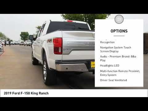 2019 Ford F-150 King Ranch NewNew or Used 191256