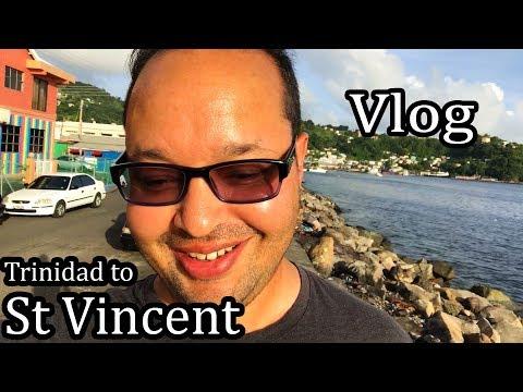 Vlog - St Vincent - leaving Trinidad - Sept 2017