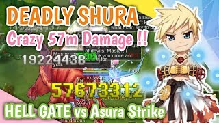 TERCYDUK !! SULTAN ZOSUI DEADLY SHURA HELL GATE 57M DAMAGE !! RAGNAROK MOBILE