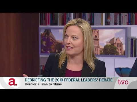 Debriefing the 2019 Federal Leaders' Debate