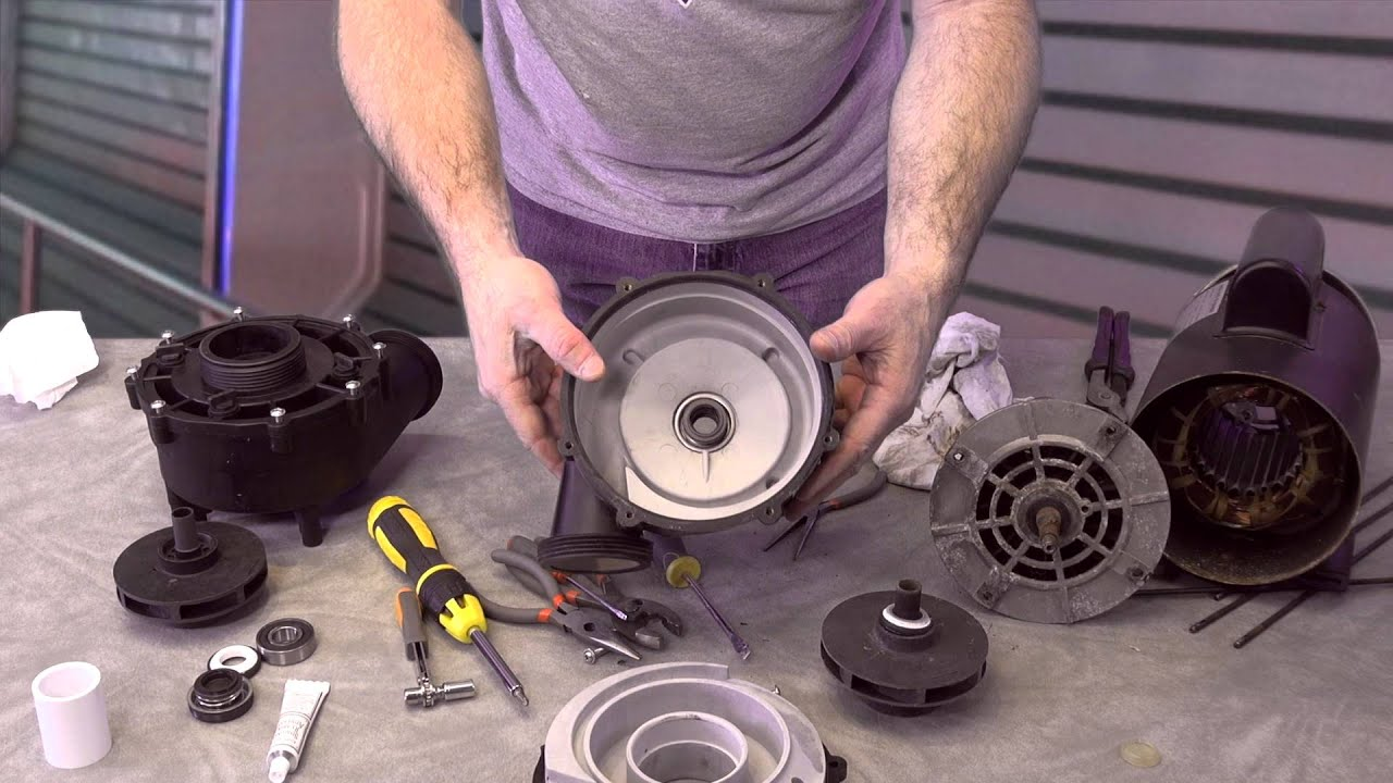 Lx Series Guangdong Pump How To Repair The Spa Guy Youtube