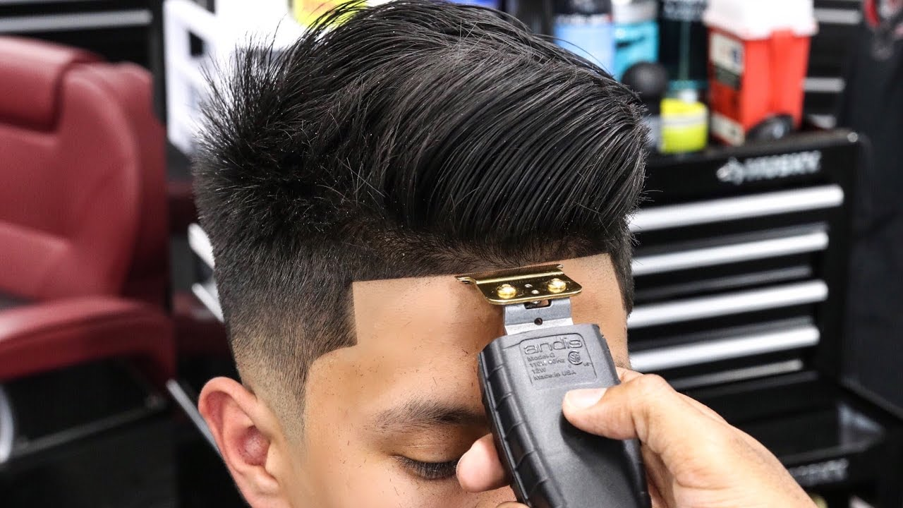 Haircut Tutorial Richie Le Combover Low Fade Youtube