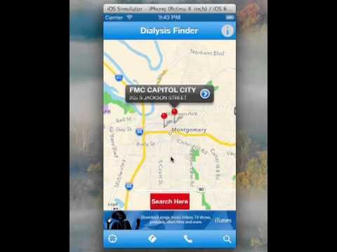 dialysis finder -iphone app - youtube, Cephalic Vein