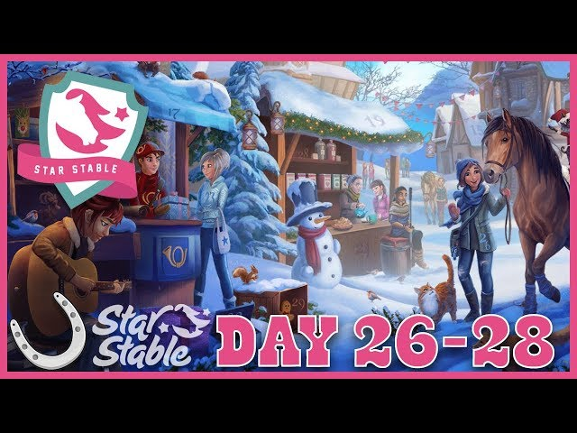 Day 26 - 28 Holiday Calendar in SSO 🐴 Star Stable Online
