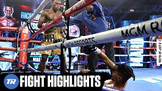 Richard Commey Highlight Reel Knockout of Jackson Marinez | FIGHT HIGHLIGHTS